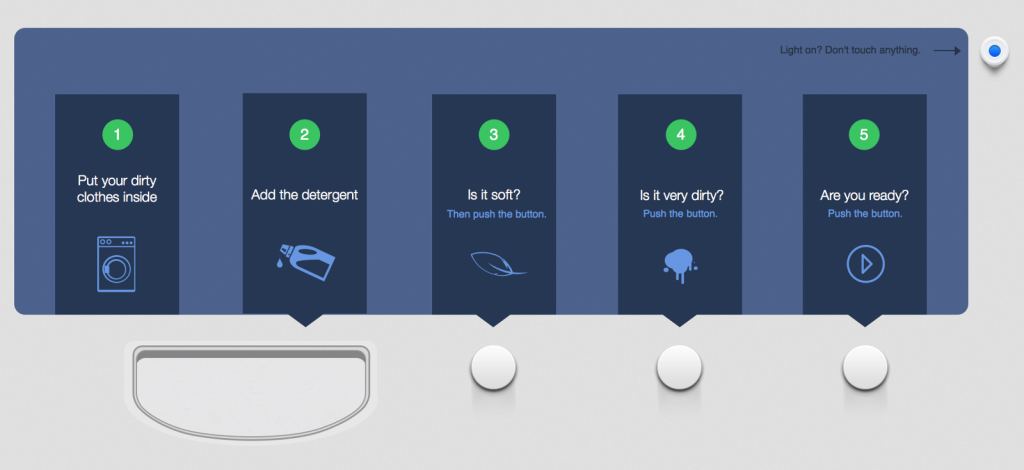 Peter Fabor Washing Machine Interface redesign