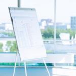 Tip na fungující meetingy: Podepsaný flipchart