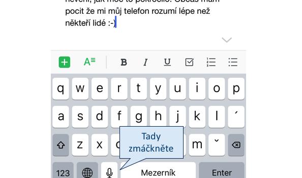 Digi trik #3 Diktování v češtině změní váš život
