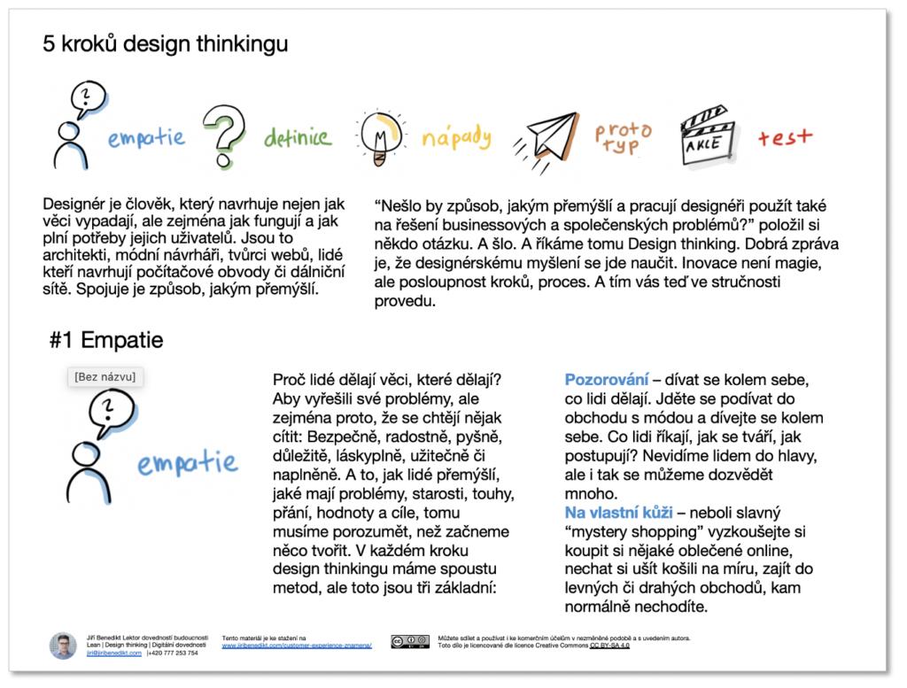 Process design thinkingu